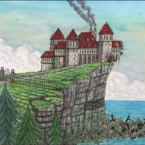 The manor on the cliff