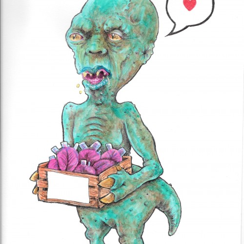 Alien looking for love