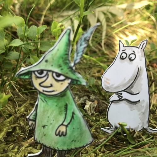Life is not peaceful, said Snufkin, contentedly.