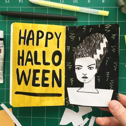 Halloween Sketchbook