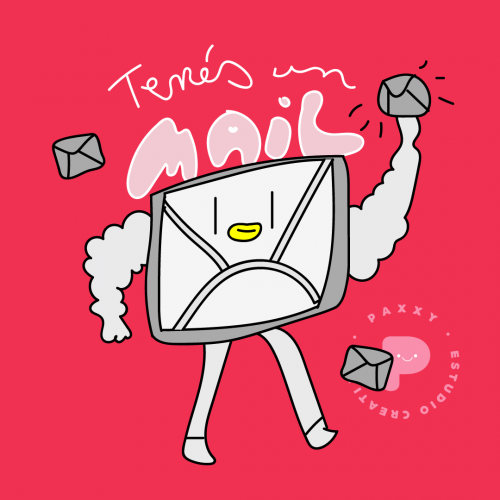 You got a mail!