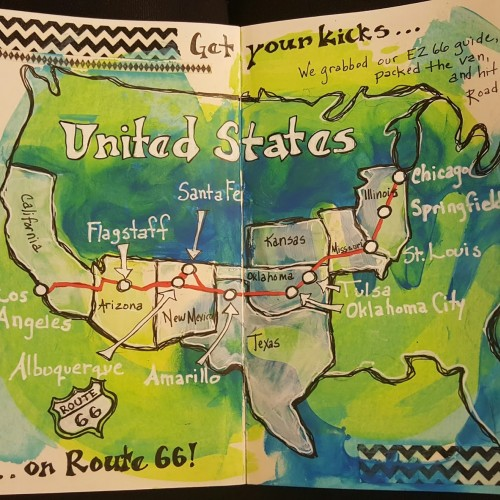 Beginning of my Route 66 Journal