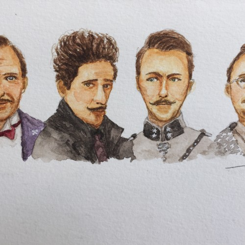 Gentlemen from The Grand Budapest Hotel