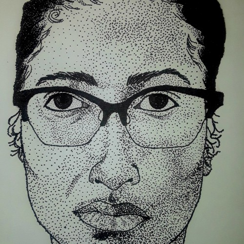 Stipple Portrait #1
