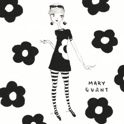 Mary Quant / Homage to the V & A exhibit
