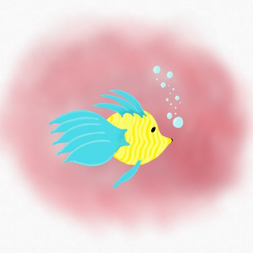 little fishy - digital
