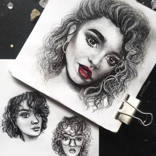 pencil portrait sketches