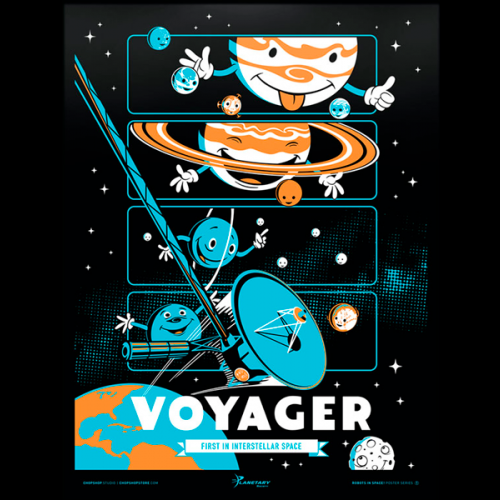 Voyager Glow-in-the-Dark Poster