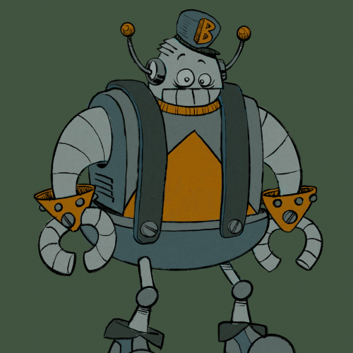 B-Bot - Color scheme test