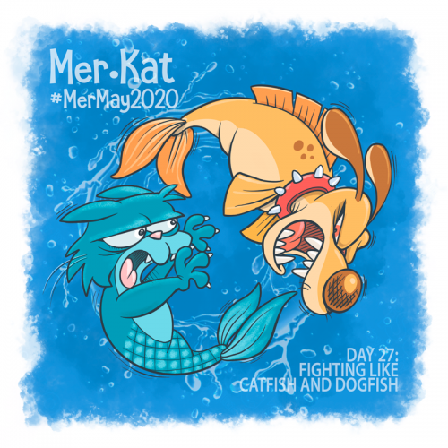 #MerKat: Fighting Like Catfish and Dogfish