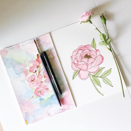 Watercolor  Florals