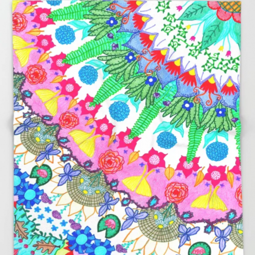 Plant Abstract Blanket