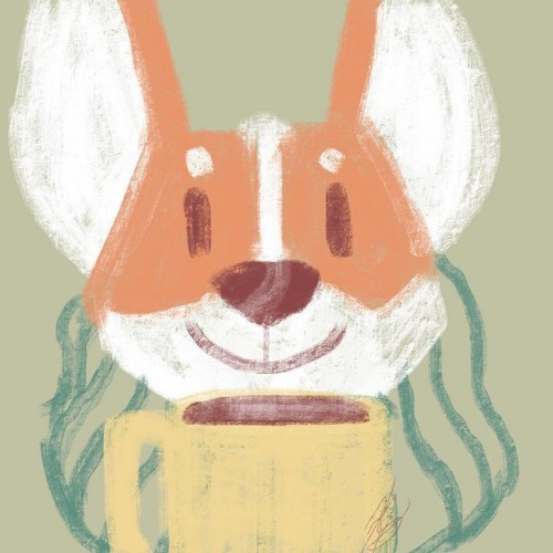 Coffee Corgi