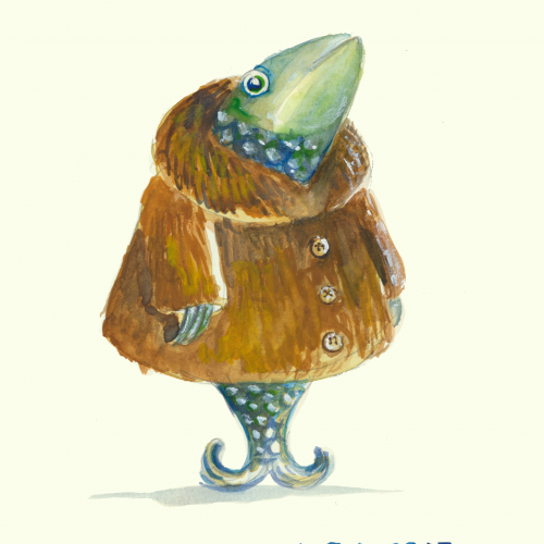 Herring in a furcoat.