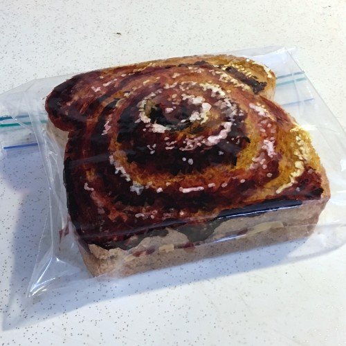 Sticky Bun Sandwich