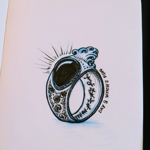 Day 9. Witchs ring.