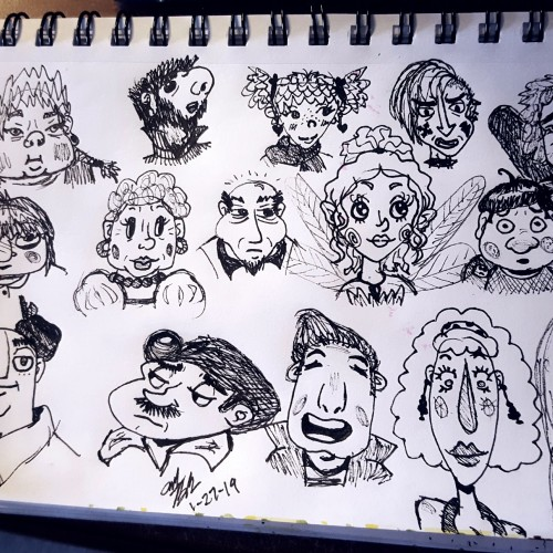 Head Doodles