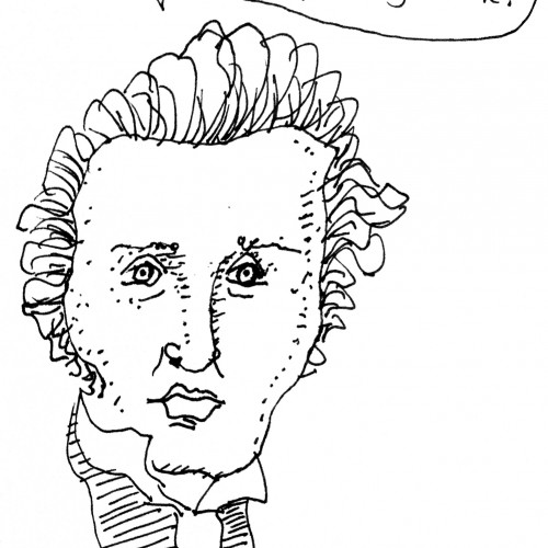 Kierkegaard, from Philosophical Beer