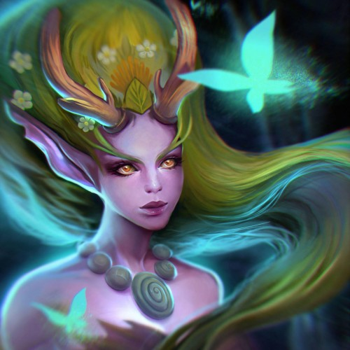 Lunara from Heroes of the Storm