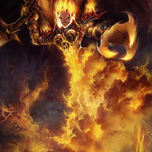 Ragnaros from World of Warcraft