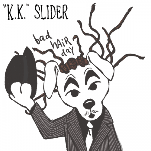 KK Slider Bad Hair Day