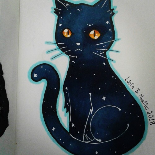 Cosmic kitty