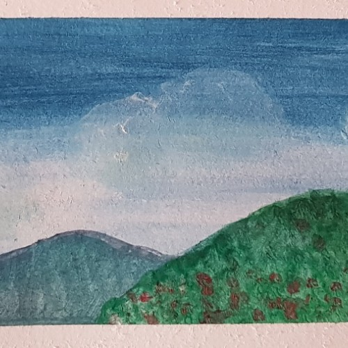 Landscape - Opaque Watercolors