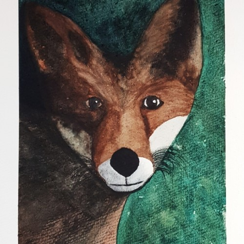 Fox- Watercolor