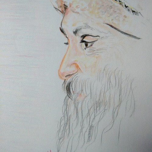 OSHO (Colored pencils)