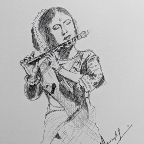 Flute and player are one...