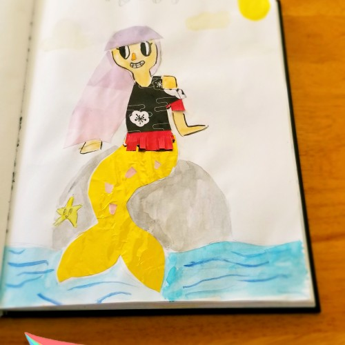 My last mer-may drawing