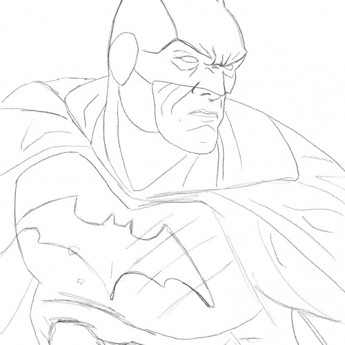 Batman Sketch (WIP)