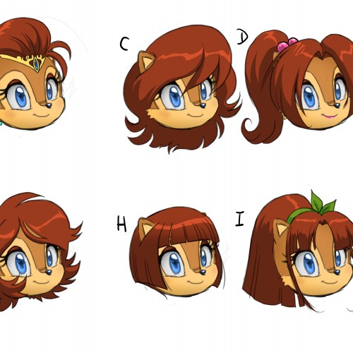 Sally Hair Styles