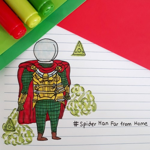Mysterio doodle