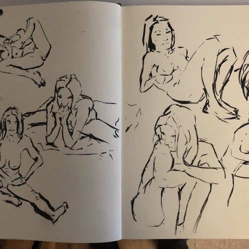 Figure drawing meetup 20.8