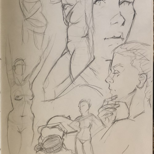 Figure drawing meetup 3.9.19