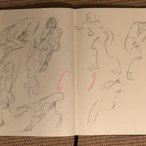 Figure drawing meetup 17.09.19