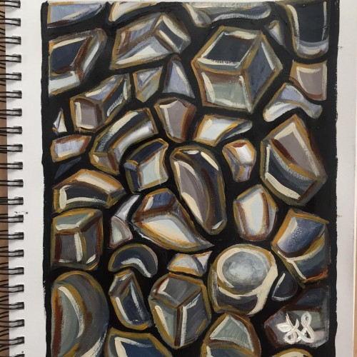 Abstracted Rocks