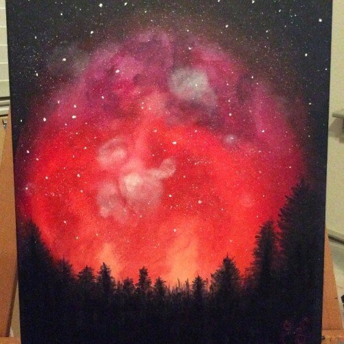 Night Sky_Art Therapy