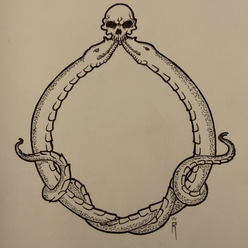 Day 1 of  Inktober2019 (Ring)