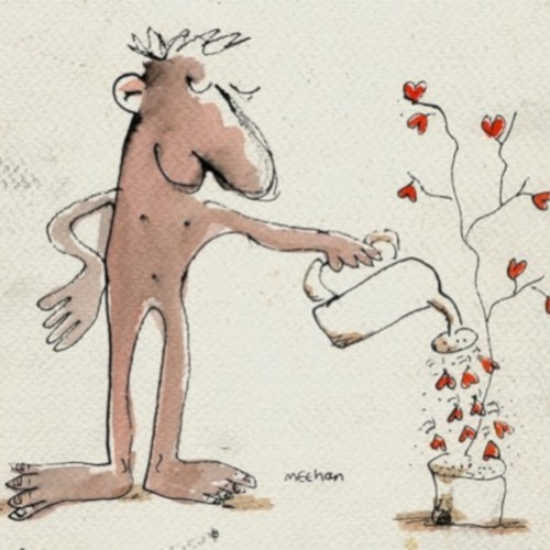 Watering the Love Tree