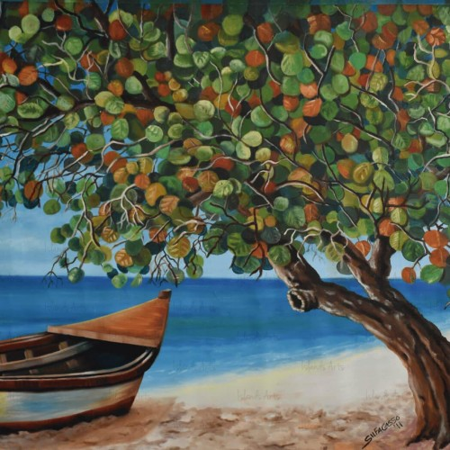 Caleta Beach Painting