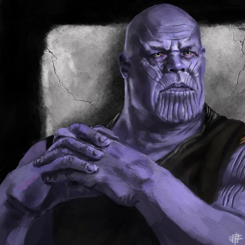 Thanos Study (Procreate)