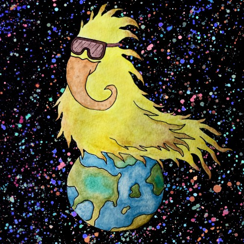 Cosmic Bird Incubates the Earth