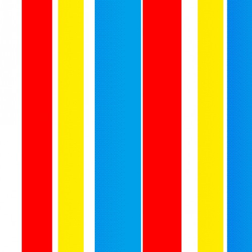 Red Blue and Yellow Pattern