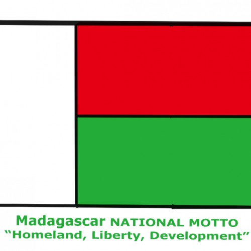 Madagascar National Motto