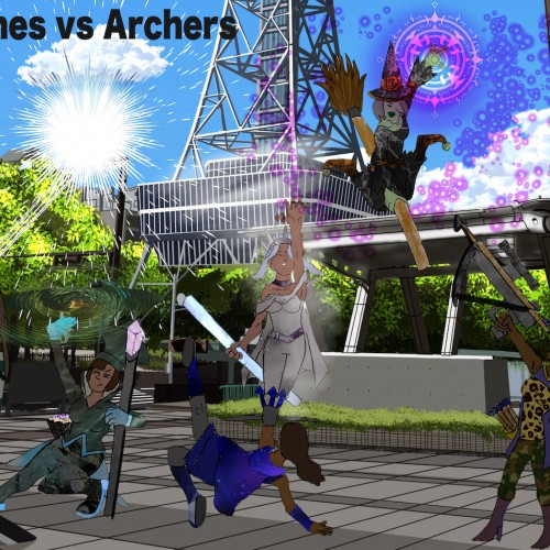 Witches Vs Archers