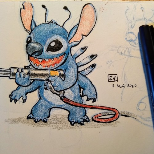 Stitch with Needlegun