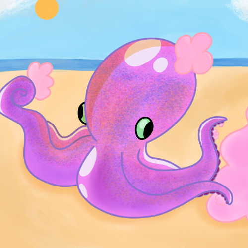 Octopus and Cotton Candy