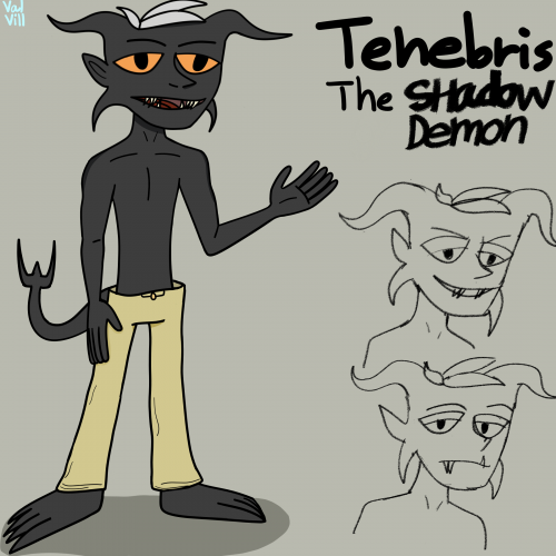 Tenebris the shadow demon redesign